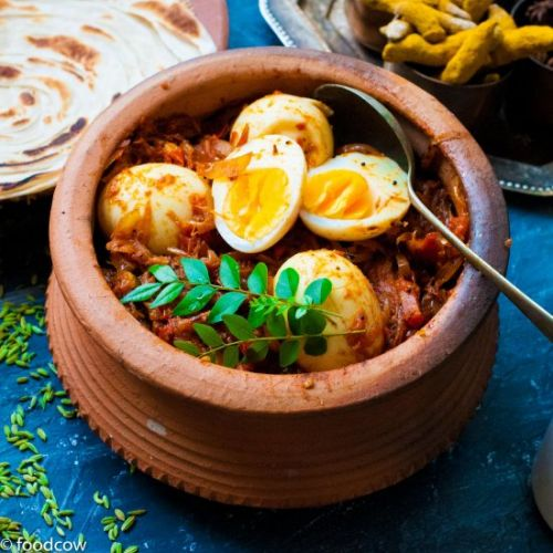 Spicy Egg Roast Masala