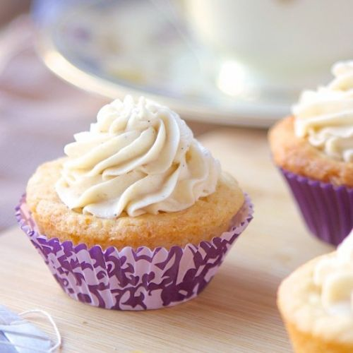 Mini Earl Grey Tea Cookie Cups