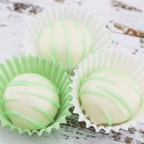 Mint and Lime Mojito Truffles