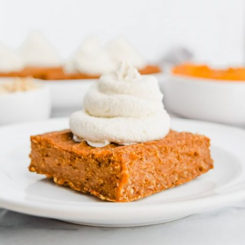 Vegan Pumpkin Spice Bars