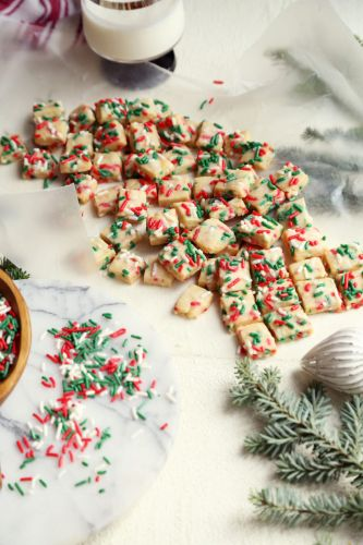 Confetti Holiday Shortbread