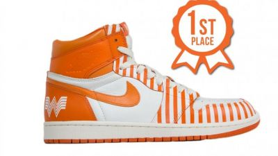 Would You Wear These Orange and White Whataburger Nikes?