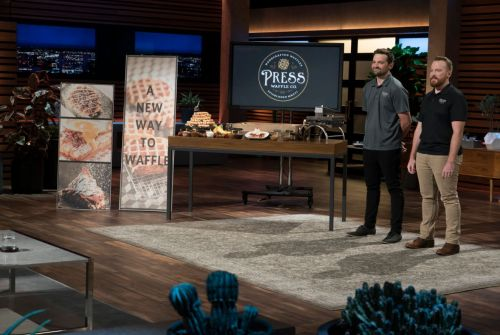 Co-Founders of Press Waffle Co. Dive Into ABC's Shark Tank
