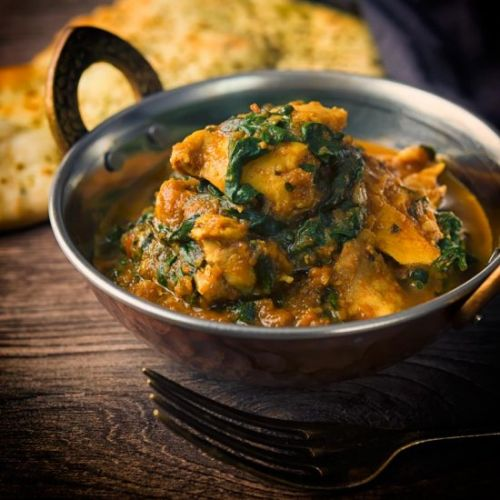 Chicken Saag or Saagwala