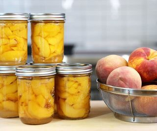Canning Fruit