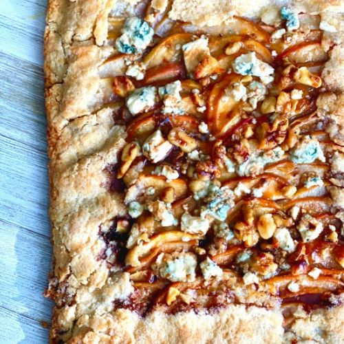 How to Make Apple and Pear Galette