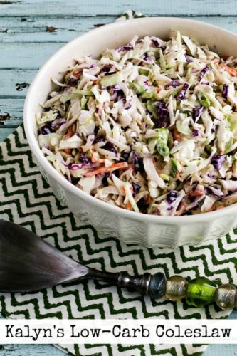 Kalyn's Low Carb Coleslaw