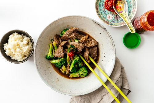 Easy Keto Friendly Low Carb Beef and Broccoli Stir Fry