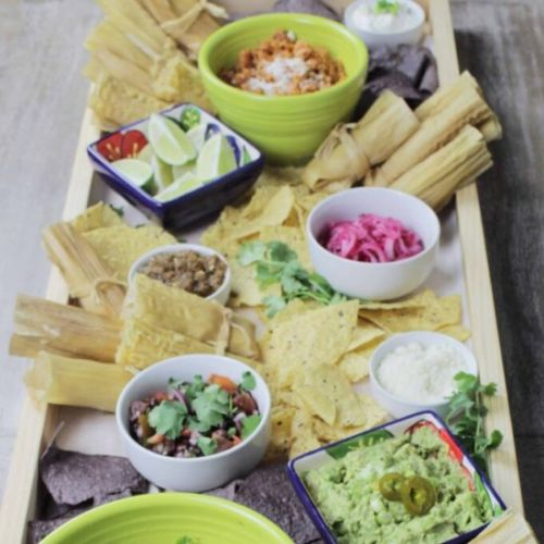 Mexican Tamale Platter