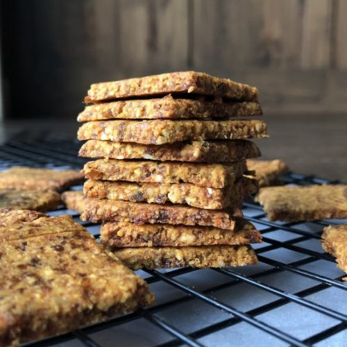Carrot & Apricot Crackers