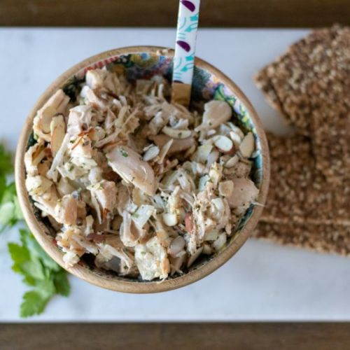 "Tarragon Almond ""Chicken"" Salad"