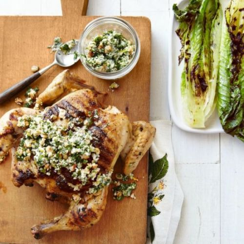 Grilled Chicken & Romaine