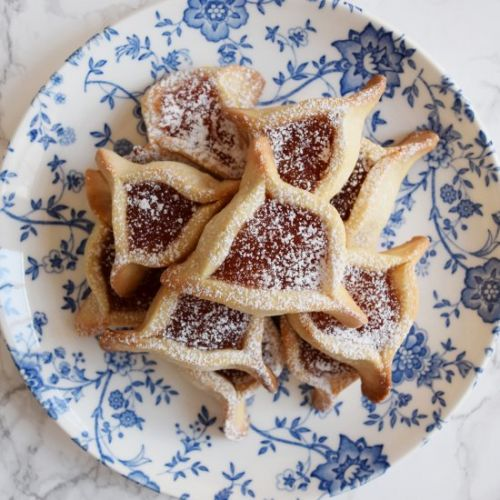 Ginger Pear Hamantaschen