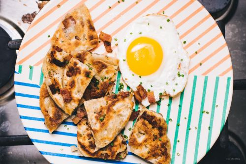 Bacon Bing Bread: a Breakfast-y Take on Classic Chinese Pancakes