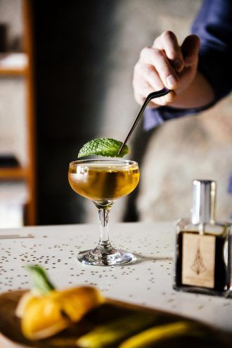 The Scent-Inspired Cocktails of Castalia