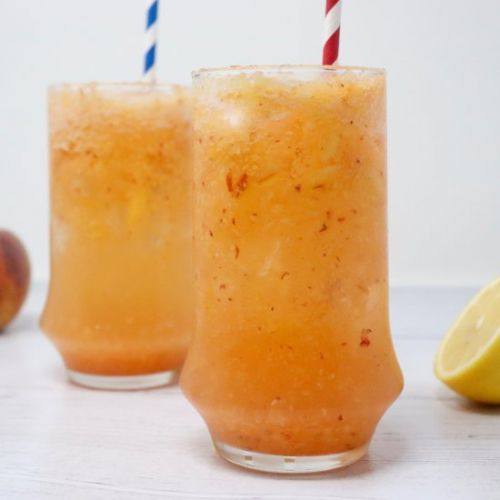 Sparkling Pineapple Peach Lemonade
