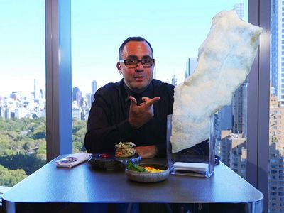 Watch: A Showstopping Chicharron Served High Above Central Park