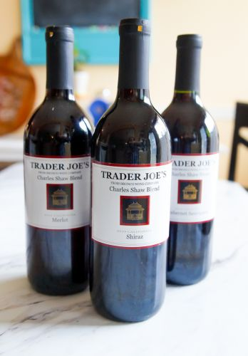 Sweet on Trader Joe's Sunday: Two-Buck Chuck REDS