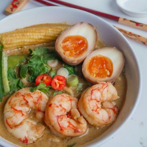 10-Minute Cheat's Prawn Laksa