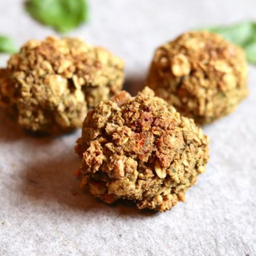 Chickpea Walnut Meatballs