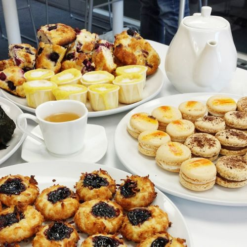 Baked goodies perfect for a tea party!