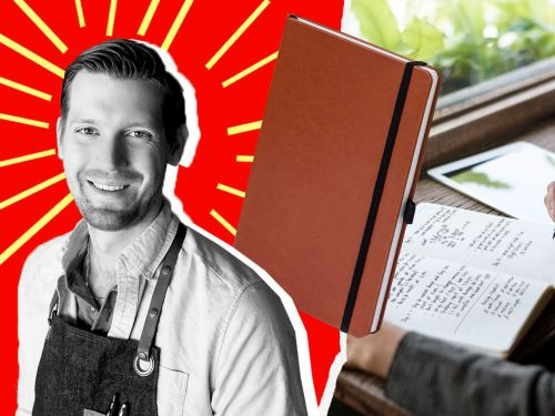 The Spill-Proof Notebook Designed Specifically for Chefs