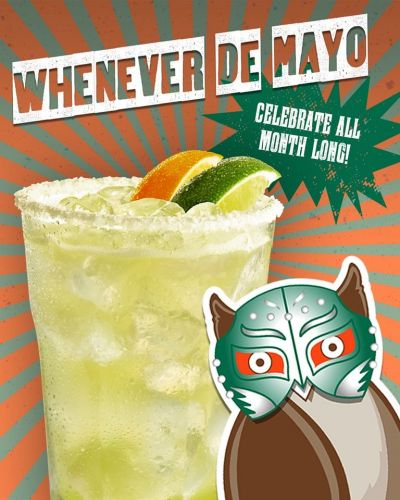 "Hooters Celebrates ""Whenever De Mayo"" with Launch of New Muy Macho and Chipotle Adobo Wing Sauces"