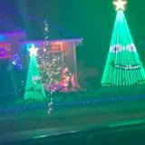 These Hilarious Bickering Christmas Trees Might Be the Most Creative Holiday Display We've Ever Seen