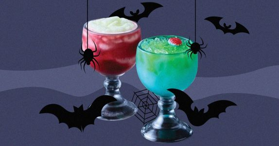 Applebee's Spooky Drinks Are Here and One Is Half Margarita, Half Daiquiri