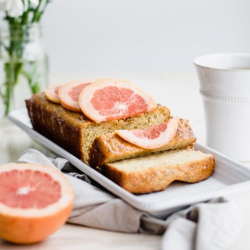 Olive Oil Grapefruit Cake