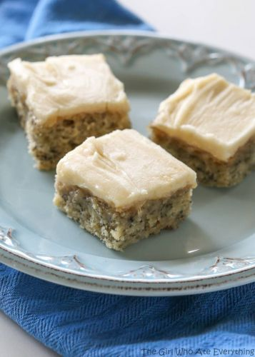 Monkey Squares - Banana Bread Bars