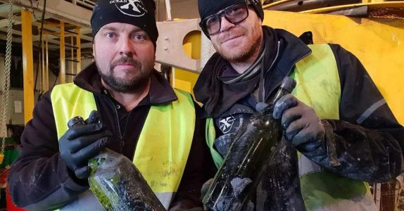 102-Year-Old Cognac Recovered from World War I Shipwreck