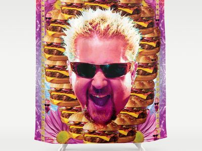 Decorate Your Entire Home With Guy Fieri's Face