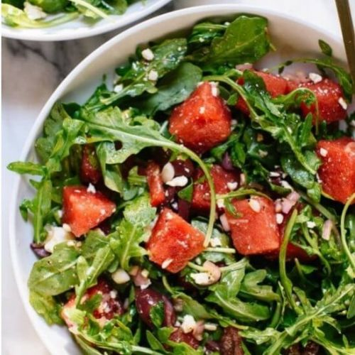 WATERMELON SALAD RECIPE WITH FRESH