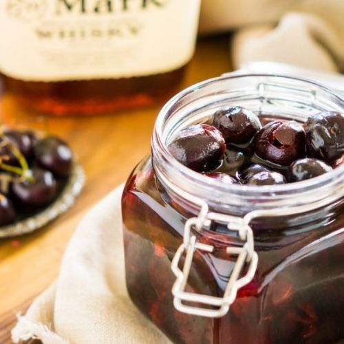 Cherry-Infused Bourbon