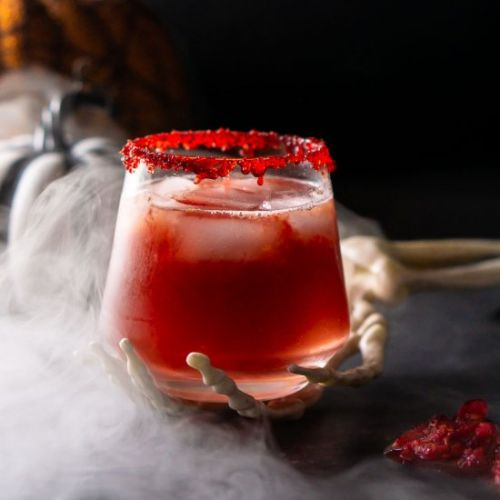 Zombie Brains Halloween Cocktail