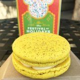 We Honestly Don't Know How to Feel About Disneyland's Eggnog Macarons