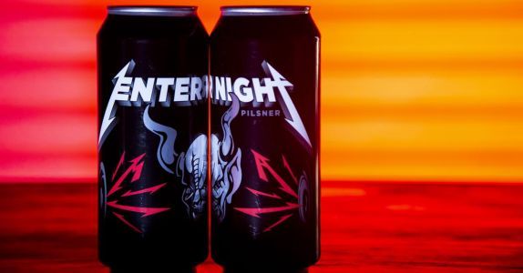 Metallica Releases 'Enter Night' Pilsner in Collaboration with Stone Brewing