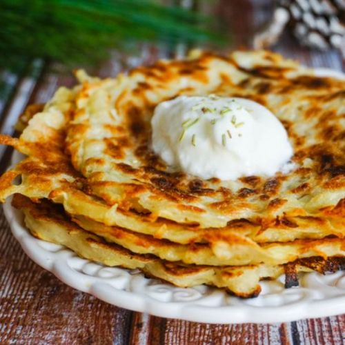 CLASSIC GERMAN POTATO PANCAKES