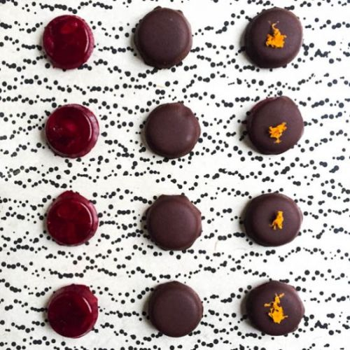 Chocolate Covered Cranberry Gummies