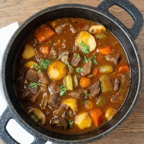 Tasty and Thick Beef Stew