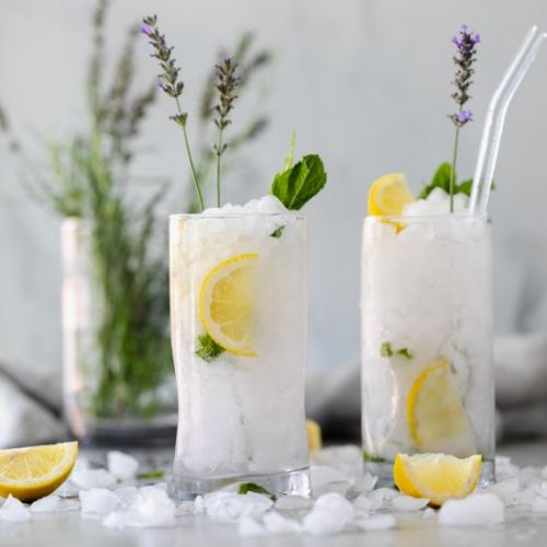 Lavender Mint Vodka Lemonade