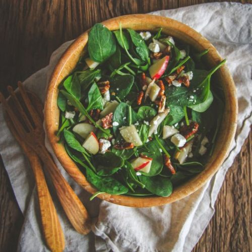 Spinach Salad & Dressing
