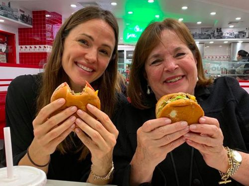 Celeb Pals Ina Garten and Jennifer Garner Dine at In-N-Out