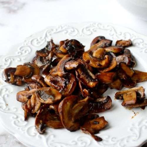 Balsamic caramelized mushrooms