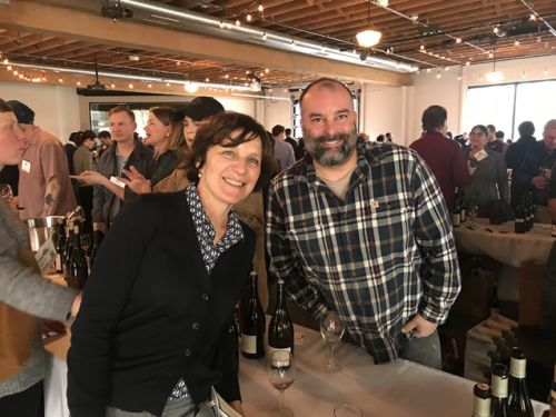 Scenes from Slow Wine California and Oregon (taste in Denver this week, Boston and NYC next week)