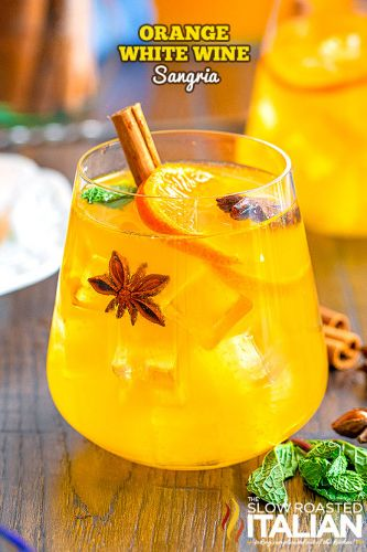 Orange White Wine Sangria
