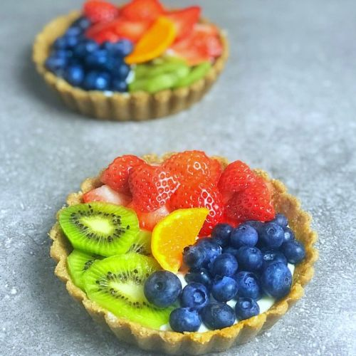 Rainbow Fruit Tart