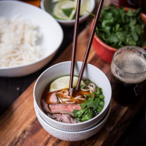 Pressure Cooker Stout Pho