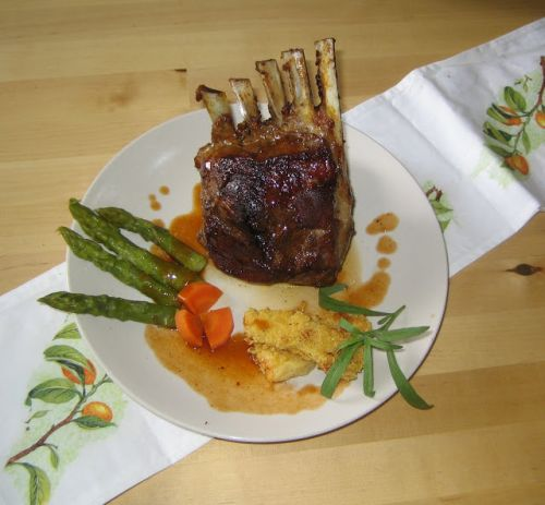 Marrocan Lamb and Panisse Recipe - Marrokanisches Lamm und Panisse